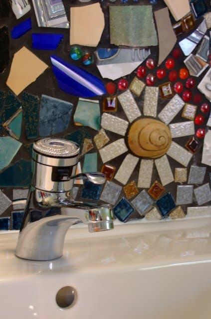 Waschtisch Detail Zimmer 6